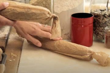 Как приготовить овсяное печенье с изюмом 1