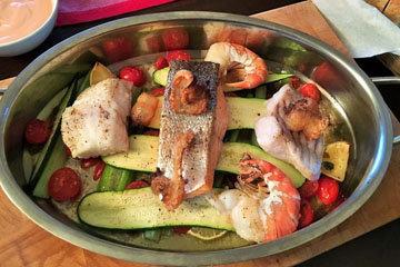 Рыбная сковородка