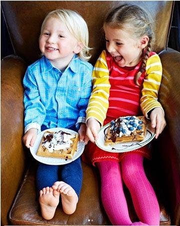 дети любят здоровую пищу отца