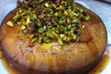 торт Медовик по-гречески