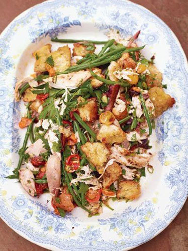 6. Салат с курицей