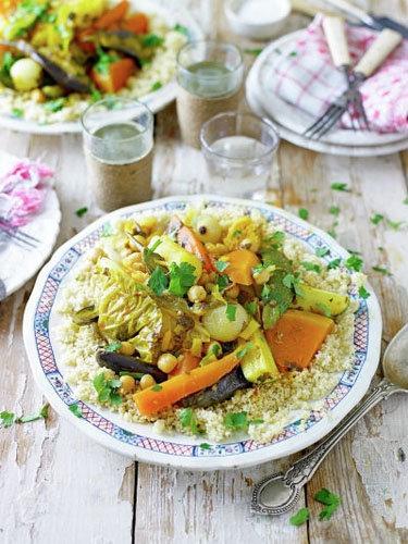 8. Быстрые здоровые рецепты в таджине Семь овощей