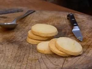 Бисквитное печенье для десерта