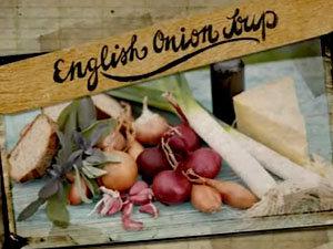 Продукты для английского лукового супа