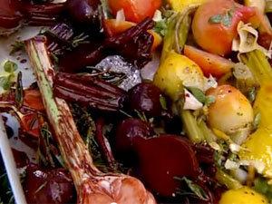 Свекла и остальные овощи в маринаде
