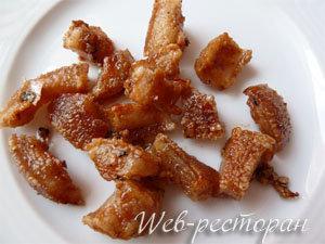 Свиные чипсы - инересное и необычное блюдо из свинины