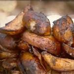 """Картофель с мясом и луком """"аль форно"""""""