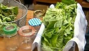 как хранить салат