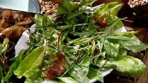 салатный микс для салата с маринованным луком