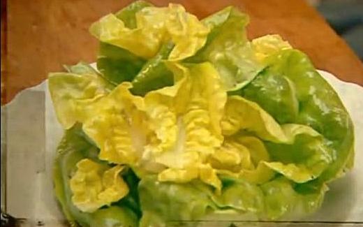 самый простой салат к ужину