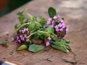 Травы для соуса к семге