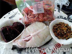 Продукты для блюда ни рыба ни мясо