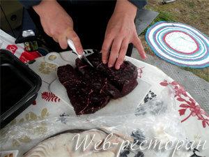 Как подготовить мясо кита для готовки