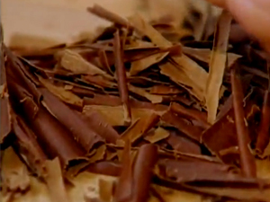 Как настрогать шоколад стружкой для ризотто