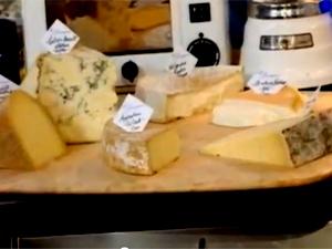 Сыр перед подачей