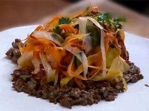 Как подать салат из моркови