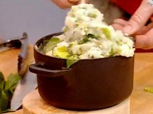 Картофельное пюре чемп готово!