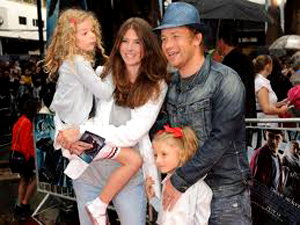 Джейми Оливер с семьей