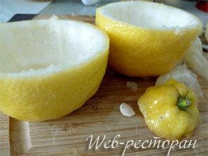 Как подготовить лимоны для запекания
