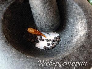 Приправы для жареных грибов