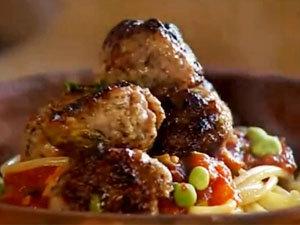 Фрикадельки, спагетти и соус за 10 минут! Быстро и вкусно!