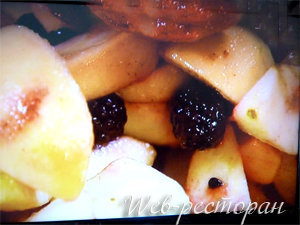 Начинка для яблочного пирога в форме