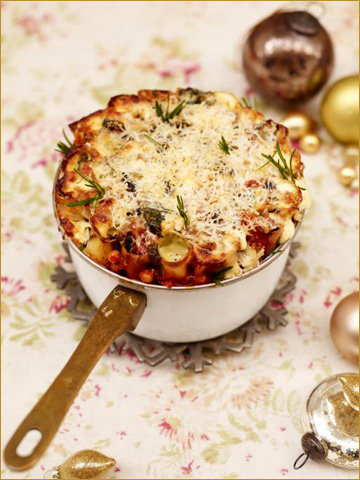 Рецепты к Новогоднему столу с Джейми! Паста со шпинатом