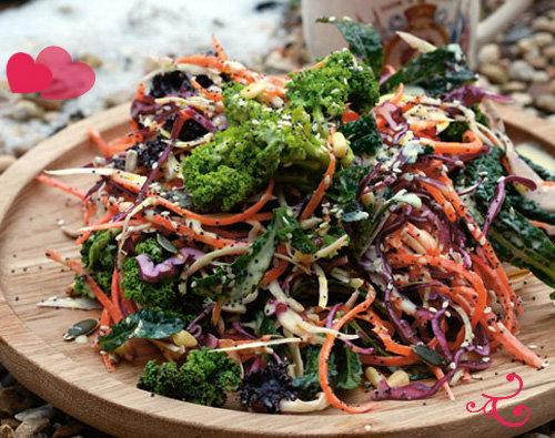 Рецепты ко дню св. Валентина от Джейми! ВОСХИТИТЕЛЬНЫЙ зимний салат