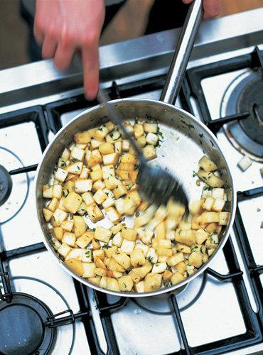 Рецепты постных блюд. Корень сельдерея приготовление пюре