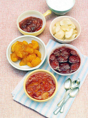Рецепты постных блюд. Десерты с фруктами
