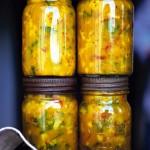Рецепты постных блюд. Закуски из овощей на английский манер