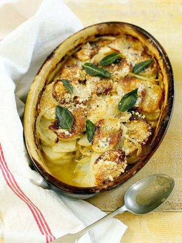 Рецепты постных блюд. Приготовление картофельной запеканки