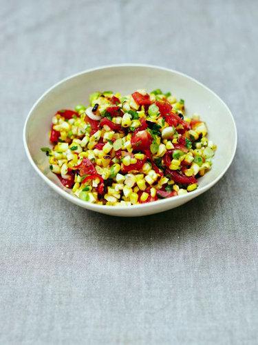 Рецепты постных блюд. Приготовление кукурузы аля сальса