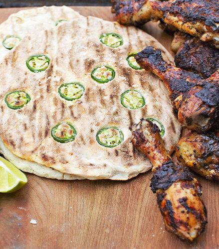 Рецепты для гриля. Рецепт куриных ножек по-ямайски и лепешки рецепт с халапеньо
