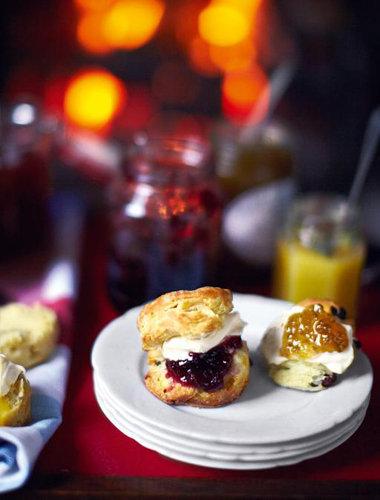 Сконы - традиционные английские кексы