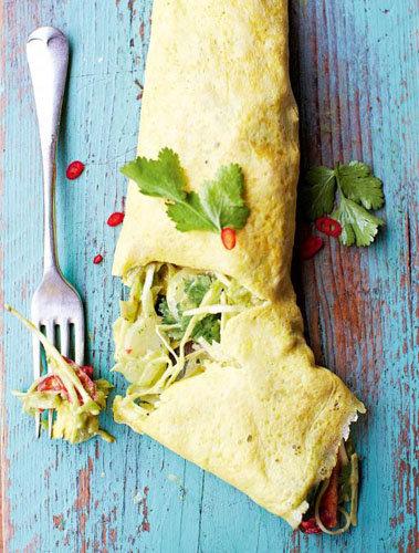 Омлет с сыром по-мексикански