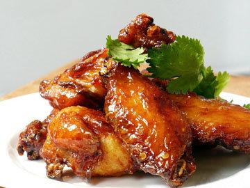 Рецепты для гриля - куриные крылышки