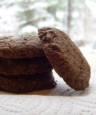 Простое печенье без муки