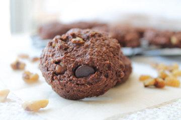 Простое печенье с какао