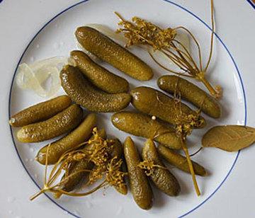 Вкусные маринованные огурцы