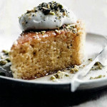Ореховый пирог. Рецепт пирога с фисташками и пропиткой