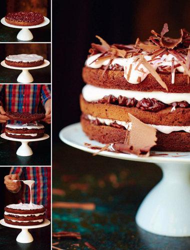 Праздничный торт - как приготовить и украсить