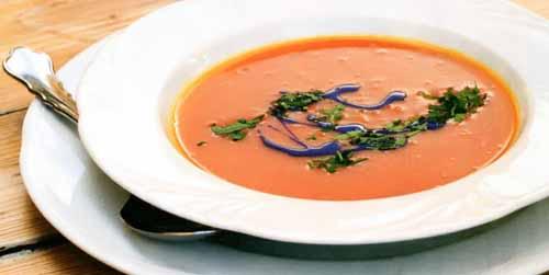 Рецепты на Хэллоуин. Тыквенный крем суп