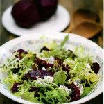 Салат с сыром и свеклой Три сыра