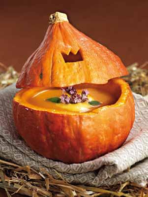 Тыквенный крем суп