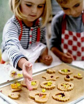 печенье с витражами приготовьте его вместе с детьми