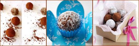 И как подарок трюфели шоколадные будут приятным сюрпризом