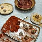 Рецепты к Новогоднему столу. Трюфель. Конфеты шоколадные