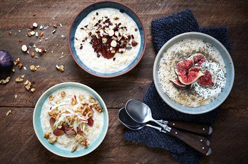 Полезный завтрак. Овсянка рецепт один, но пять разных блюд