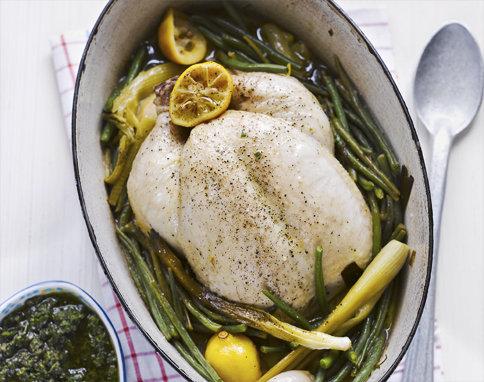 Рецепты блюд из курицы. Курица с овощами